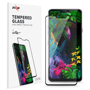 LG G8 ThinQ ZIZO Full Cover Temper Glass