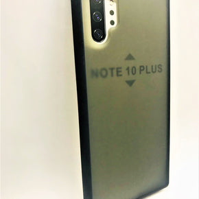 Samsung Galaxy Note 10 Plus Smoke Transparent Hybrid Case Cover