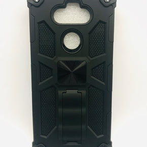 LG Aristo 5 Armor Dual Layered Hybrid Kickstand Case Cover