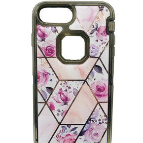 Apple iPhone 7/8 Plus Heavy Duty Marble Design Case Cover