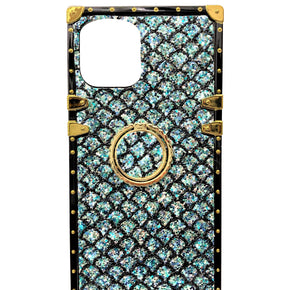 Apple iPhone 11 Magnetic Ring Glitter Cover