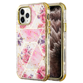 Apple iPhone 11 Pro Max Electroplating Hybrid Design Case Cover