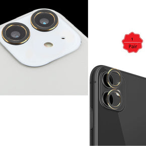 Apple iPhone 11 Ring Metal Camera Lens Protector