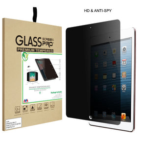 Privacy Tempered Glass Screen Protector (2.5D) for Apple iPad Air /Air 2 iPad 9.7 (2017-2018) iPad Pro 9.7