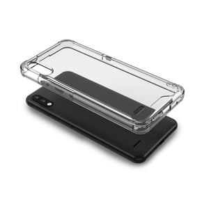 LG K22 Clear Hybrid Case Cover