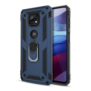 Motorola G Power (2021) Ring Hybrid Case Cover