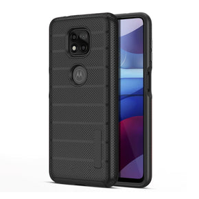 Motorola G Power (2021) Dotted Hybrid Case Cover