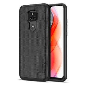 Motorola G Play (2021) Dotted Hybrid Case Cover