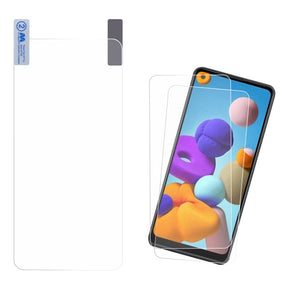 Samsung Galaxy A21 Twin Pack Screen Protector Film