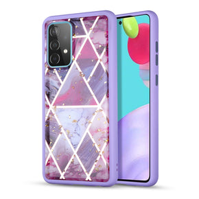 Samsung Galaxy A52 5G Marble Design TPU Case Cover