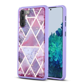 Samsung Galaxy S21 Hybrid TPU Marble Design Case Cover