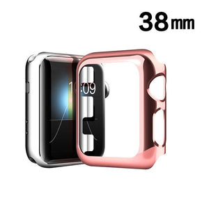 Apple iWatch 38mm TPU Chrome Case Cover