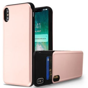Apple iPhone XS Max Hybrid Card Holder Case Cover