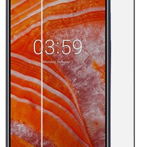 Nokia 3.1 Plus Case Friendly Tempered Glass