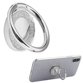 Universal Metallic Glitter Ring Phone Holder