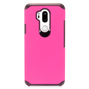 LG G7 ThinQ Solid Hybrid Case Cover