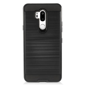 LG G7 Hybrid Brushed Case Cover