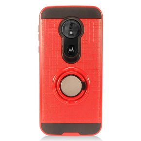Motorola G6 Play Ring Case Cover