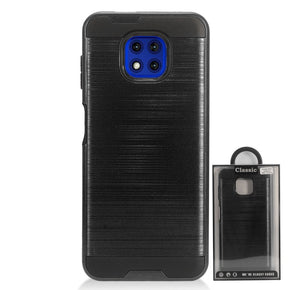 Motorola Moto G Power (2021) Brush Hybrid Case Cover
