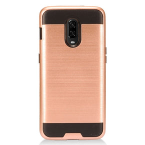 One Plus 6T Hybrid Brushed Case Cover