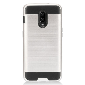 OnePlus 6T Hybrid Brushed Case Cover