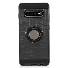 Samsung Galaxy S10 Plus Hybrid Ring Case Cover