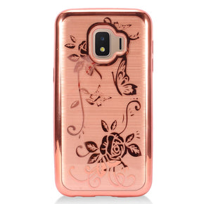 Samsung Galaxy J2 Core TPU Brushed Design Case Cover