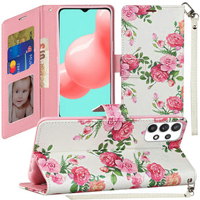 Samsung A32 (5G) Wallet Design Case Cover