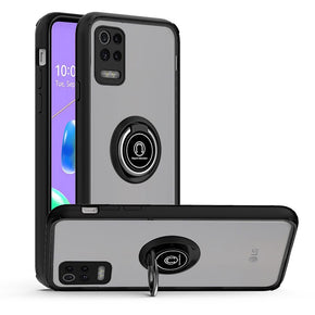 LG K53 Magnetic RingStand Case Cover