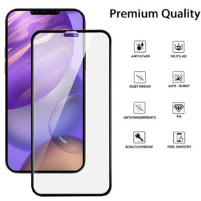 Apple iPhone 12 Pro Max (6.7) Full Covered Tempered Glass