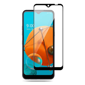 LG K51 Full Covered Screen Tempered Glass