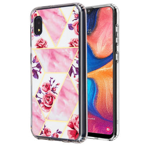 Samsung Galaxy A10e Slim Marbling Design Case Cover