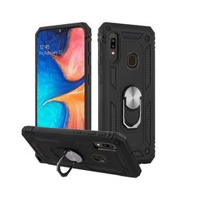 Samsung Galaxy A20s Anti-Drop Ring Hybrid Case Cover