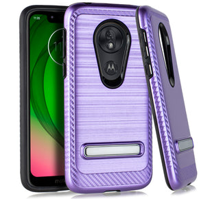 REVVLRY Brushed Hybrid Kickstand Case Cover