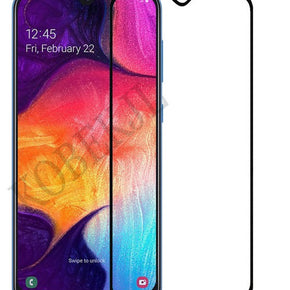 Samsung Galaxy A20, A30, A50 Full Cover Tempered Glass