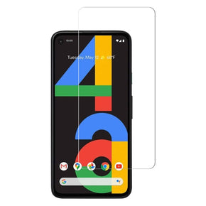 Google Pixel 4a Clear Case Friendly Tempered Glass