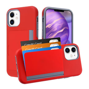 Apple iPhone 12 Mini Hybrid Card Case Cover