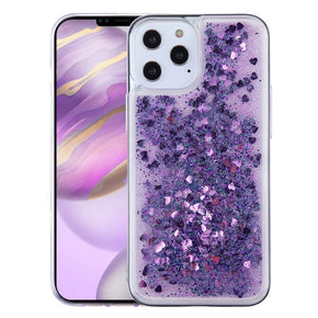 Apple iPhone 12 Pro Max (6.7) Glitter Hybrid Case Cover