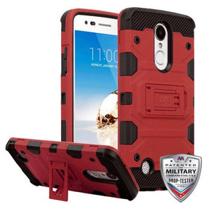 LG Aristo Hybrid 3 Piece Case Cover