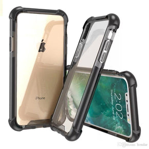 Apple iPhone 6/7/8 Bumper Clear Hybrid Case Cover