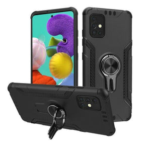 Samsung Galaxy A51 (5G) Ring Hybrid Case Cover