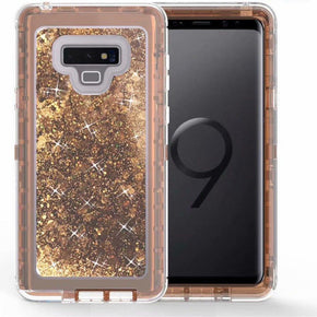 Samsung Galaxy Note 9 Hybrid Glitter Case Cover