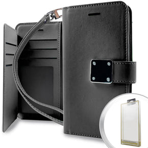 Samsung Galaxy Note 8 Hybrid Wallet Case Cover