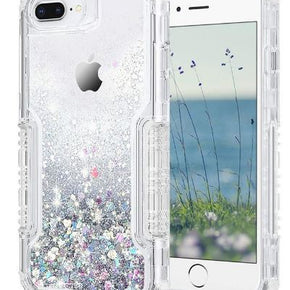 Apple iPhone 8/7 Plus Hybrid Glitter Case Cover