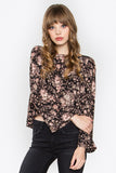 EFFIE FLORAL TOP