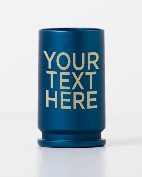 30MM Cannon Shot Glass - Blue