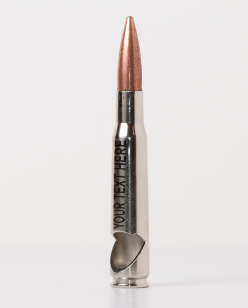50 Caliber Bottle Opener - Nickel