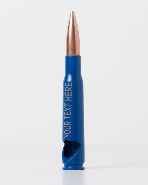 50 Caliber Bottle Opener - Blue