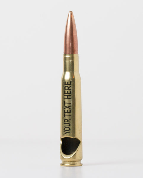 50 Caliber Bottle Opener - Brass