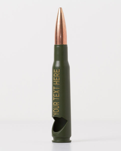 50 Caliber Bottle Opener - Groomsman / Best Man (OD Green)